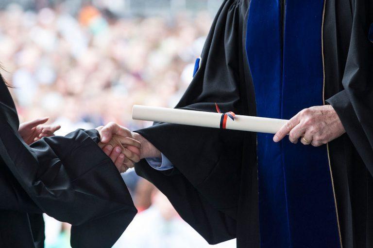 Вручение дипломов НИМА