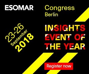 ESOMAR Congress 2018