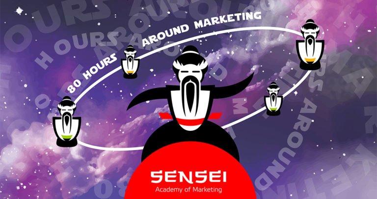 Новая тренинговая программа «80 часов вокруг маркетинга» от Академии Маркетинга «Сенсей»